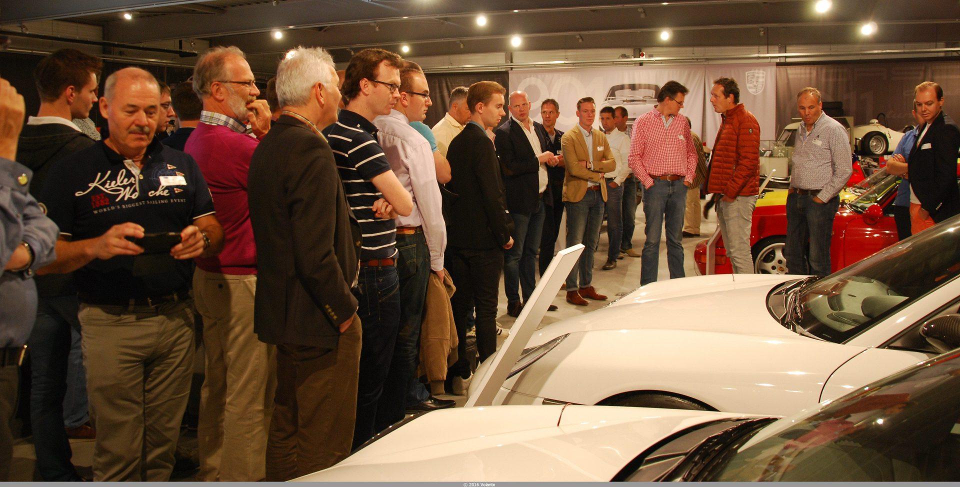 Volante ALV en bezoek Porsche Centrum Gelderland 2