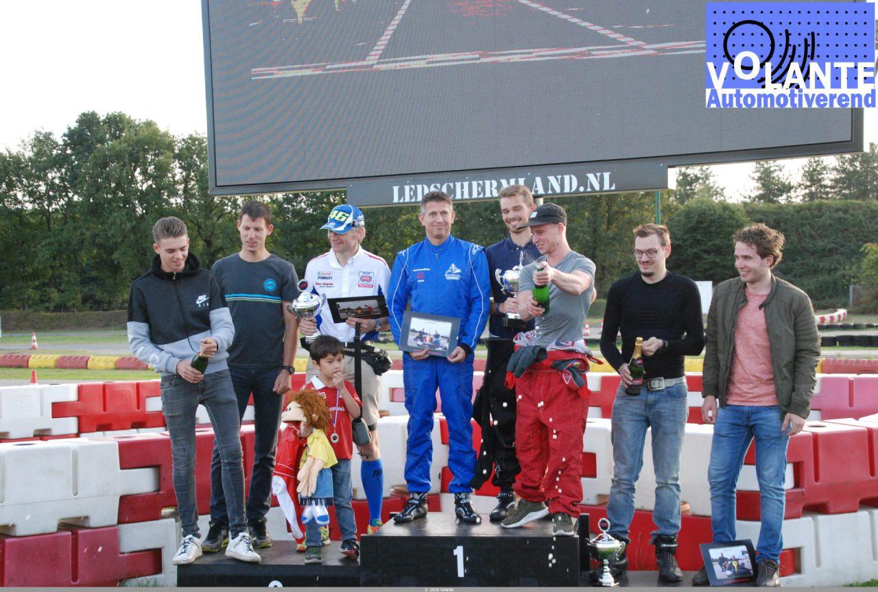 Podium Volante Kart Cup 2018