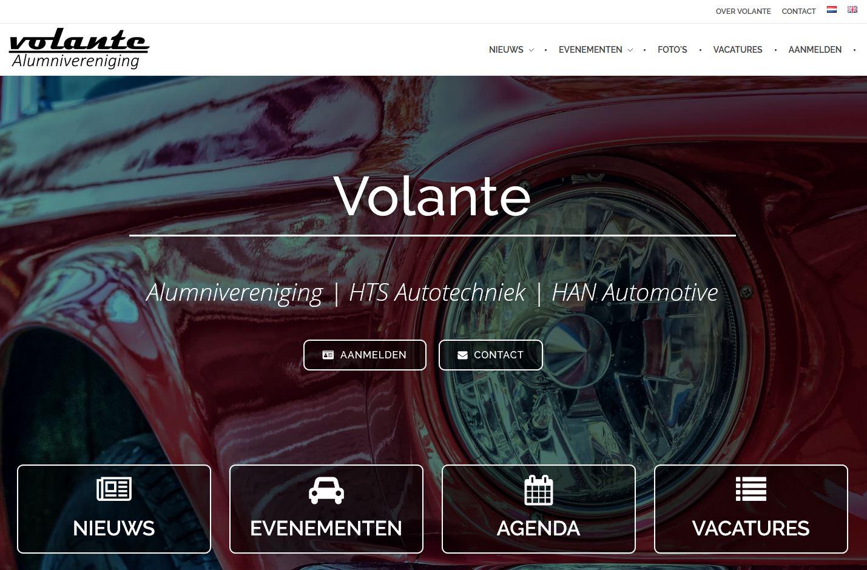 Nieuwe website Volante