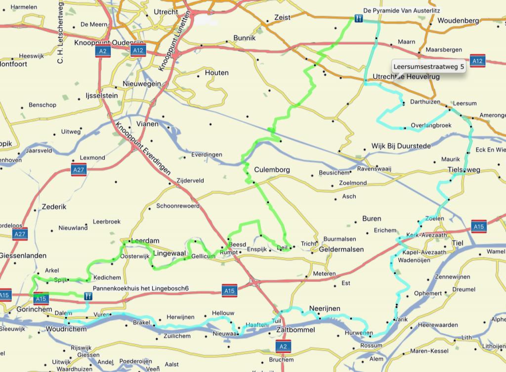 Route Volante Motortoertocht 2018
